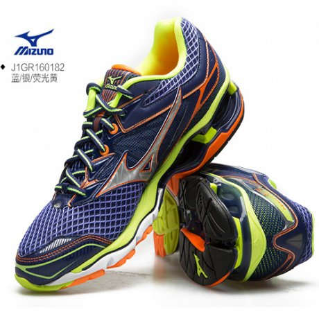 【品牌馆】美津浓MIZUNO WAVE CREATION 18 男子慢跑鞋 J1GR160182 J1GR160182